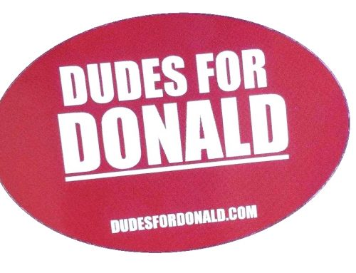 DUDES FOR DONALD? Trademark Filers Waste Filing Fees on Trump Trademarks