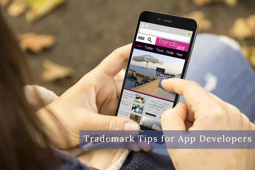 Top 4 Trademark Tips for App Developers