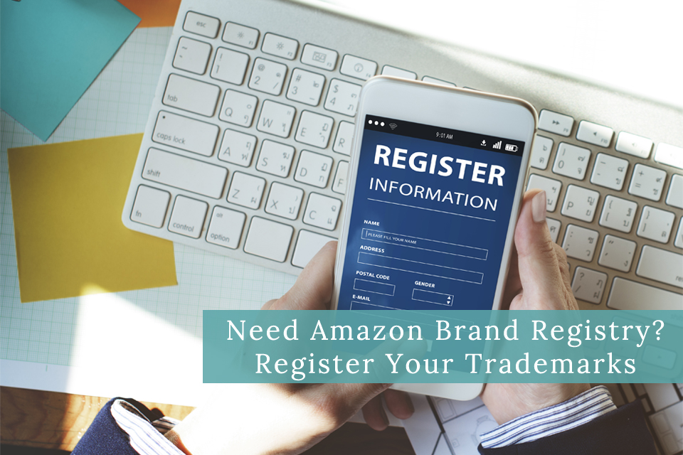 trademark for amazon brand registry