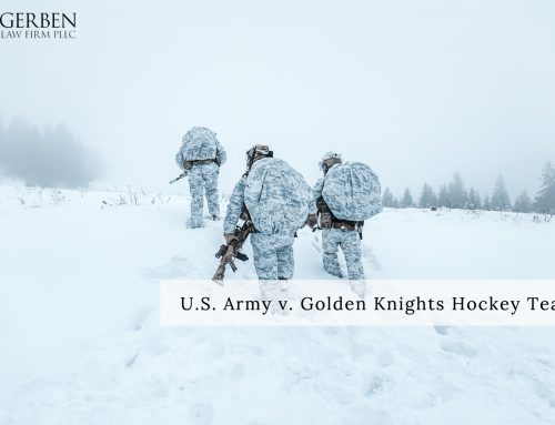 Las Vegas Golden Knights Trademark Filings Opposed by US Army