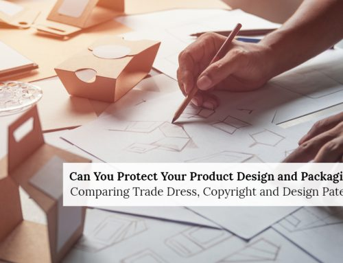 How to Protect Product Packaging using Copyrights, Design Patents, and Trade Dress