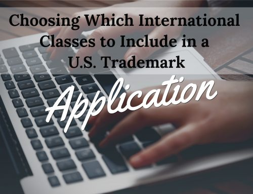 Which International Classes Should I Include in My U.S. Trademark Application?
