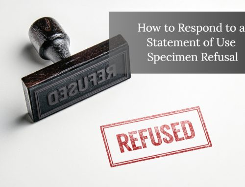 Office Action Responses: Specimen Refusal After Filing a Statement of Use