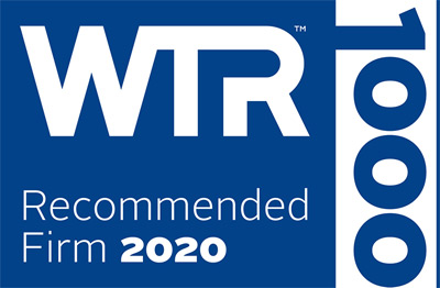 Recommended by World Trademark Review
