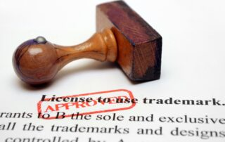 trademark license to use stamp and document