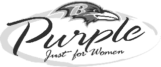 B PURPLE JUST FOR WOMEN
