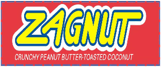 ZAGNUT CRUNCHY PEANUT BUTTER TOASTED COCONUT