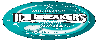ICE BREAKERS WINTERGREEN ARTIFICIAL FLAVOR TO SHARE ULTIMATE MOUTH FRESHENING SUGAR FREE MINTS WITH FLAVOR CRYSTALS, NOT TO SHARE