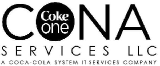 CONA COKE ONE SERVICES LLC A COCA-COLA SYSTEM IT SERVICES COMPANY