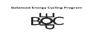 BALANCED ENERGY CYCLING PROGRAM BECP