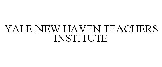 YALE-NEW HAVEN TEACHERS INSTITUTE