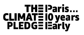 THE CLIMATE PLEDGE PARIS... 10 YEARS EARLY
