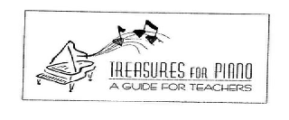 TREASURES FOR PIANO A GUIDE FOR TEACHERS