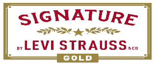 SIGNATURE BY LEVI STRAUSS & CO. GOLD