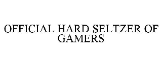 OFFICIAL HARD SELTZER OF GAMERS