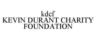 KDCF KEVIN DURANT CHARITY FOUNDATION