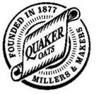 FOUNDED IN 1877 QUAKER OATS MILLERS & MAKERS