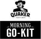 QUAKER -ESTD- 1877 MORNING GO-KIT