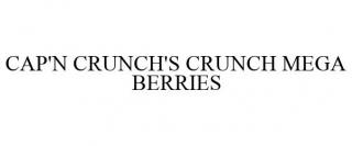 CAP'N CRUNCH'S CRUNCH MEGA BERRIES
