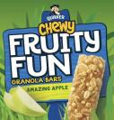 QUAKER CHEWY FRUITY FUN GRANOLA BARS AMAZING APPLE