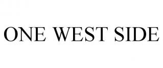 ONE WEST SIDE