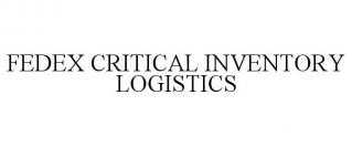 FEDEX CRITICAL INVENTORY LOGISTICS