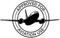 APPROVED FOR AVIATION USE